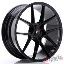 JR Wheels JR30 20x8,  5 ET40-42 5H BLANK Glossy Black JR3020855X4074GB