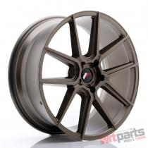 JR Wheels JR30 21x9 ET20-40 5H BLANK Matt Bronze JR3021905X2074MBZ