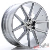 JR Wheels JR30 21x9 ET20-40 5H BLANK Silver Machined Face JR3021905X2074SM