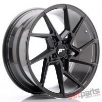 JR Wheels JR33 19x8,  5 ET35 5x120 Hyper Gray - JR3319855I3572HG
