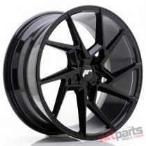 JR Wheels JR33 19x8,  5 ET35-48 5H Blank Glossy Black JR3319855X3574GB