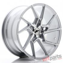 JR Wheels JR33 19x9,  5 ET20-45 5H BLANK Silver Machined Face JR3319955X2074SM