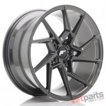 JR Wheels JR33 19x9,  5 ET40 5x120 Hyper Gray - JR3319955I4072HG