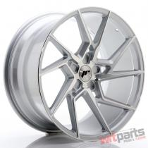 JR Wheels JR33 20x10 ET20-40 5H BLANK Silver Machined Face - JR3320105X2074SM