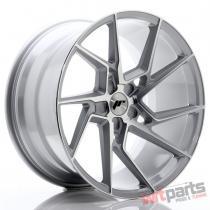 JR Wheels JR33 20x10,  5 ET15-30 5H BLANK Silver Machined Face - JR33201055X1574SM