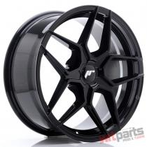 JR Wheels JR34 18x8 ET20-42 5H BLANK Glossy Black - JR3418805X2074GB