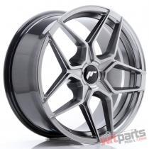 JR Wheels JR34 18x8 ET20-42 5H BLANK Hyper Black - JR3418805X2074HB