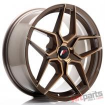 JR Wheels JR34 18x8 ET20-42 5H BLANK Platinum Bronze - JR3418805X2074BZP
