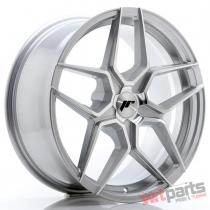 JR Wheels JR34 18x8 ET20-42 5H BLANK Silver Machined Face JR3418805X2074SM