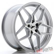 JR Wheels JR34 18x8 ET35 5x120 Silver Machined Face JR3418805I3572SM