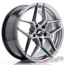 JR Wheels JR34 18x8 ET42 5x112 Hyper Black - JR3418805L4266HB