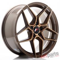 JR Wheels JR34 18x8 ET42 5x112 Platinum Bronze JR3418805L4266BZP