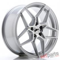 JR Wheels JR34 18x8 ET42 5x112 Silver Machined Face - JR3418805L4266SM