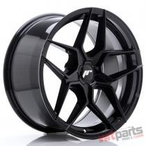 JR Wheels JR34 18x9 ET20-42 5H BLANK Glossy Black JR3418905X2074GB