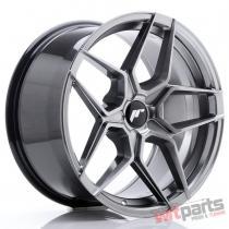 JR Wheels JR34 18x9 ET20-42 5H BLANK Hyper Black JR3418905X2074HB