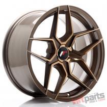 JR Wheels JR34 18x9 ET20-42 5H BLANK Platinum Bronze JR3418905X2074BZP