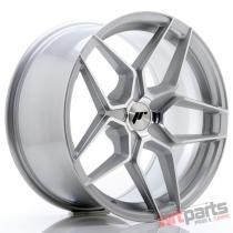 JR Wheels JR34 18x9 ET20-42 5H BLANK Silver Machined Face JR3418905X2074SM