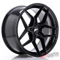 JR Wheels JR34 18x9 ET42 5x112 Glossy Black - JR3418905L4266GB
