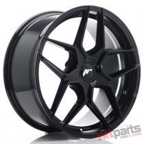 JR Wheels JR34 19x8,  5 ET20-40 5H BLANK Gloss Black JR3419855X2074GB
