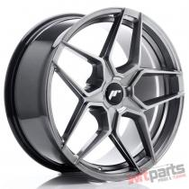 JR Wheels JR34 19x8,  5 ET20-40 5H BLANK Hyper Black - JR3419855X2074HB