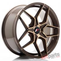 JR Wheels JR34 19x8,  5 ET35-40 5H BLANK Platinum Bronze - JR3419855X3574BZP