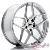 JR Wheels JR34 19x8,  5 ET40 5x112 Silver Machined Face - JR3419855L4066SM
