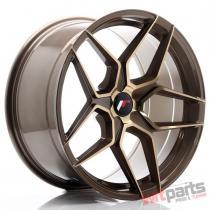 JR Wheels JR34 19x9,  5 ET20-40 5H BLANK Platinum Bronze - JR3419955X2074BZP