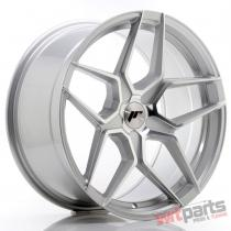 JR Wheels JR34 19x9,  5 ET20-40 5H BLANK Silver Machined Face - JR3419955X2074SM