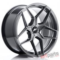 JR Wheels JR34 19x9,  5 ET35-40 5H BLANK Hyper Black - JR3419955X3574HB