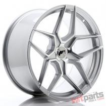 JR Wheels JR34 20x10 ET20-40 5H BLANK Silver Machined Face - JR3420105X2074SM