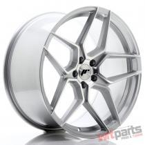 JR Wheels JR34 20x10 ET40 5x112 Silver Machined Face - JR3420105L4066SM