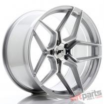 JR Wheels JR34 20x10,  5 ET35 5x120 Silver Machined Face - JR34201055I3572SM