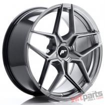 JR Wheels JR34 20x9 ET20-40 5H BLANK Hyper Black JR3420905X2074HB