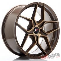 JR Wheels JR34 20x9 ET20-40 5H BLANK Platinum Bronze - JR3420905X2074BZP
