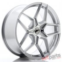 JR Wheels JR34 20x9 ET20-40 5H BLANK Silver Machined Face - JR3420905X2074SM