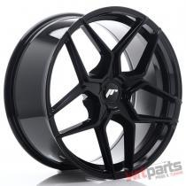 JR Wheels JR34 20x9 ET35-40 5H BLANK Gloss Black - JR3420905X3574GB