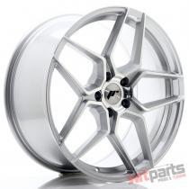 JR Wheels JR34 20x9 ET40 5x112 Silver Machined Face - JR3420905L4066SM