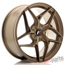 JR Wheels JR35 19x8,  5 ET20-45 5H BLANK Bronze JR3519855X2074BZ