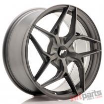JR Wheels JR35 19x8,  5 ET20-45 5H BLANK Matt Gun Metal JR3519855X2074GMM