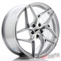 JR Wheels JR35 19x8,  5 ET35 5x120 Silver Machined Face JR3519855I3572SM