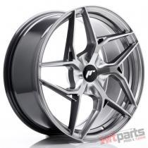 JR Wheels JR35 19x8,  5 ET35-45 5H BLANK Hyper Black JR3519855X3574HB