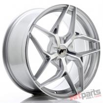 JR Wheels JR35 19x8,  5 ET35-45 5H BLANK Silver Machined Face JR3519855X3574SM
