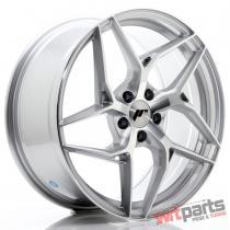JR Wheels JR35 19x8,  5 ET45 5x112 Silver Machined Face - JR3519855L4566SM