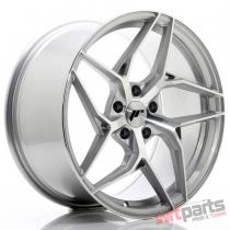 JR Wheels JR35 19x9,  5 ET35 5x120 Silver Machined Face - JR3519955I3572SM
