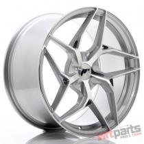 JR Wheels JR35 19x9,  5 ET35-45 5H BLANK Silver Machined Face - JR3519955X3574SM