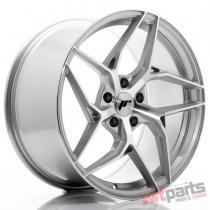 JR Wheels JR35 19x9,  5 ET45 5x112 Silver Machined Face - JR3519955L4566SM