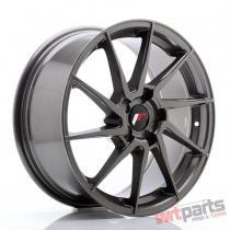 JR Wheels JR36 18x8 ET20-52 5H BLANK Hyper Gray - JR3618805X2074HG