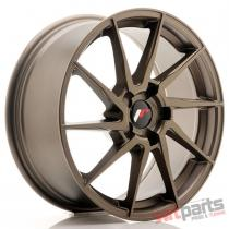 JR Wheels JR36 18x8 ET20-52 5H BLANK Matt Bronze - JR3618805X2074MBZ