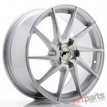 JR Wheels JR36 18x8 ET20-52 5H BLANK Silver Brushed Face - JR3618805X2074SBF