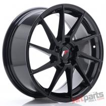 JR Wheels JR36 18x8 ET45 5x114,  3 Glossy Black - JR3618805H4574GB